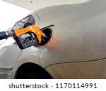 refuel the car | Shutterstock . vector #1170114991
