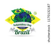 vector illustration. brazilian... | Shutterstock .eps vector #1170132187