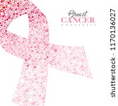 breast cancer awareness month... | Shutterstock .eps vector #1170136027
