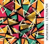 abstract seamless sport pattern ... | Shutterstock .eps vector #1170146704