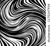 curve random chaotic lines... | Shutterstock .eps vector #1170147934