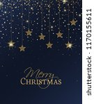 vector illustration of stars.... | Shutterstock .eps vector #1170155611