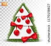 festive postcard design....   Shutterstock .eps vector #1170158827