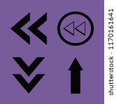 direction vector icons set....   Shutterstock .eps vector #1170161641