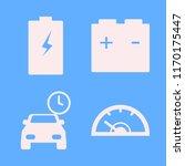 automotive vector icons set.... | Shutterstock .eps vector #1170175447