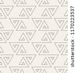 vector seamless pattern. modern ... | Shutterstock .eps vector #1170223537
