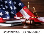 Judge Gavel With Scales  Books...