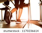 back view of lower body legs of ... | Shutterstock . vector #1170236614