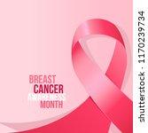 breast cancer awareness month... | Shutterstock .eps vector #1170239734