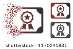 authorize diploma icon in... | Shutterstock .eps vector #1170241831