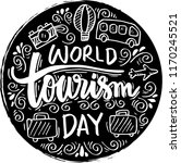 world tourism day | Shutterstock .eps vector #1170245521