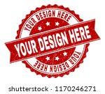your design here seal print...   Shutterstock .eps vector #1170246271