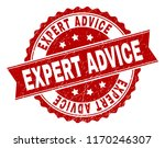 expert advice seal print with... | Shutterstock .eps vector #1170246307