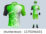 3d realistic of front of green... | Shutterstock .eps vector #1170246331