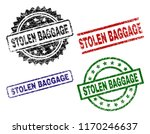stolen baggage seal prints with ... | Shutterstock .eps vector #1170246637