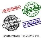 standards seal imprints with... | Shutterstock .eps vector #1170247141