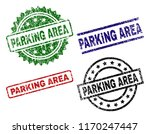 parking area seal prints with... | Shutterstock .eps vector #1170247447