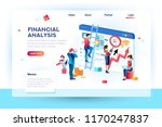 finance analysts. concept of... | Shutterstock .eps vector #1170247837