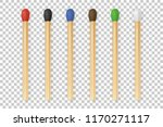 vector 3d realistic colorful... | Shutterstock .eps vector #1170271117