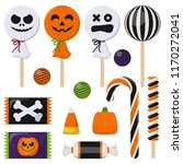 assortment of colorful... | Shutterstock .eps vector #1170272041