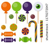 assortment of colorful... | Shutterstock .eps vector #1170272047