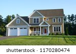 facade view of house in the... | Shutterstock . vector #1170280474