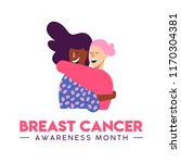 breast cancer awareness month... | Shutterstock .eps vector #1170304381
