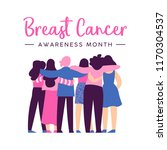 breast cancer awareness month... | Shutterstock .eps vector #1170304537