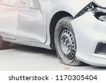 tire deterioration is the cause ... | Shutterstock . vector #1170305404