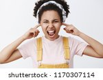 stop yelling at me. portrait of ... | Shutterstock . vector #1170307114