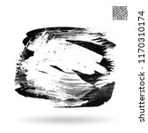 grey brush stroke and texture.... | Shutterstock .eps vector #1170310174