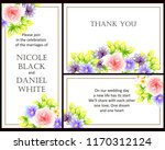 vintage delicate greeting... | Shutterstock . vector #1170312124