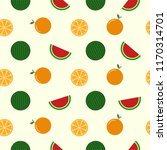 seamless pattern cool cute... | Shutterstock .eps vector #1170314701