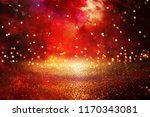 red  black and gold glitter... | Shutterstock . vector #1170343081