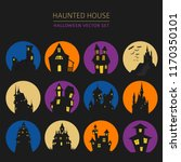halloween holiday info graphic... | Shutterstock .eps vector #1170350101