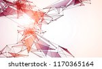 low poly web vector background   Shutterstock .eps vector #1170365164