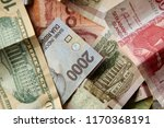 different currencies from... | Shutterstock . vector #1170368191