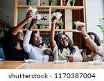 four african american girls...   Shutterstock . vector #1170387004
