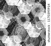 seamless pattern patchwork... | Shutterstock . vector #1170395914