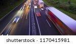 traffic jam in the rush hour | Shutterstock . vector #1170415981