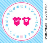 baby rompers icon | Shutterstock .eps vector #1170416914