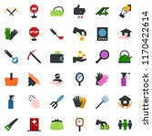 colored vector icon set  ... | Shutterstock .eps vector #1170422614