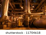 equipment  cables and piping as ... | Shutterstock . vector #11704618