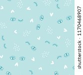sweet baby fabric design.... | Shutterstock .eps vector #1170468907
