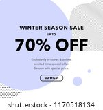 70  off special offer price... | Shutterstock .eps vector #1170518134