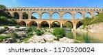The Gard's Bridge In Occitanie...