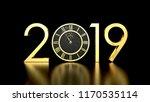 2019 happy new year background... | Shutterstock . vector #1170535114