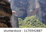 rousanou monastery  st. barbara ...   Shutterstock . vector #1170542887