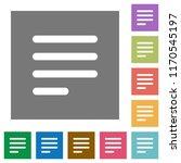 text align justify last row... | Shutterstock .eps vector #1170545197