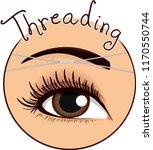 illustration of threading an... | Shutterstock .eps vector #1170550744